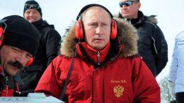 Putin biatlonistou
