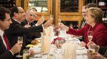 Merkelová a Sarkozy slaví 50 let spolupráce obou z…