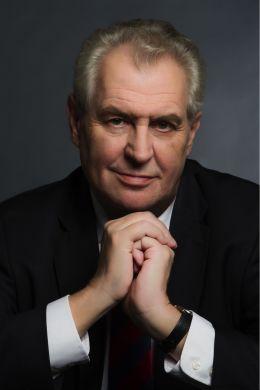 Miloš Zeman - oficiální portrét