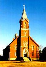 Kostel sv. Jana Nepomuského ve městečku Pilsen