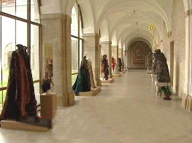 Výstava kostýmů ze známých pohádek