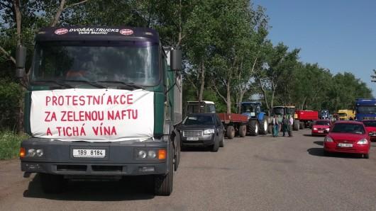 Zemědělci na Břeclavsku připravují protestní jízdu